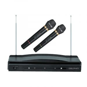 MC-2 Dual Wireless Microphone with Receiver
