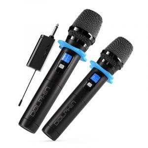 MCX20 VHF Dual Wireless Microphone System