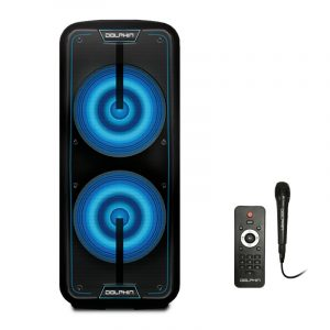"""SP-1090RBT Dual 15"""" Rechargeable Party Speaker"""