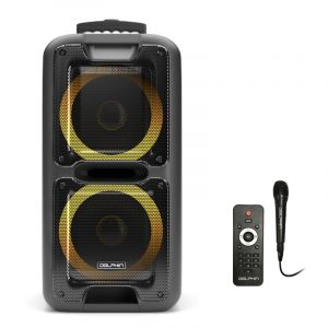 """SP-2100RBT Dual 10"""" Rechargeable Party Speaker"""