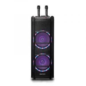 "SP-2130RBT Dual 12"" Rechargeable Karaoke Machine"